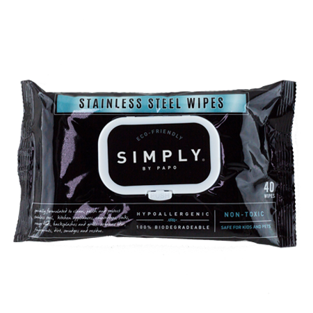 Stainless Steel Wipes Soft Pack